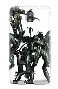taoyix diy Caronnie Perfect Tpu Case For Galaxy Note 3/ Anti-scratch Protector Case (metal Gear)