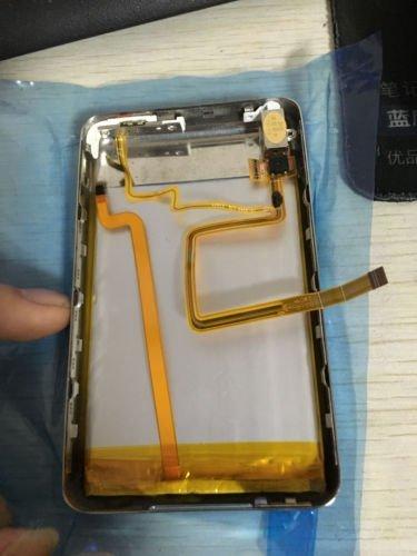 Black Back Cover Upgrade kits for iPod Classic /& ipod Video 3000mAh Battery