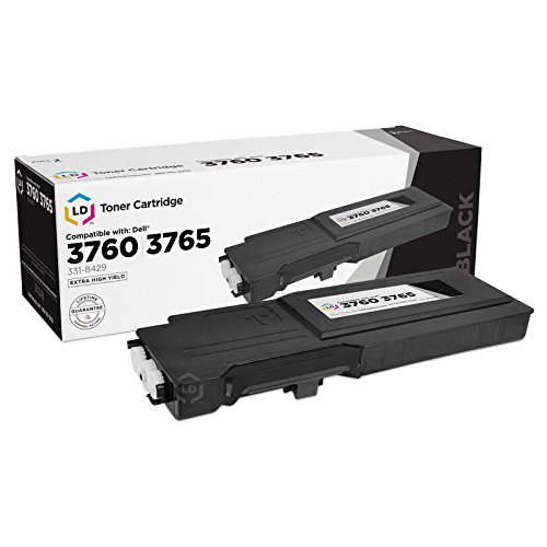 LD Compatible Toner Cartridge Replacement for Dell 331-8429 W8D60 Extra High Yield (Black)
