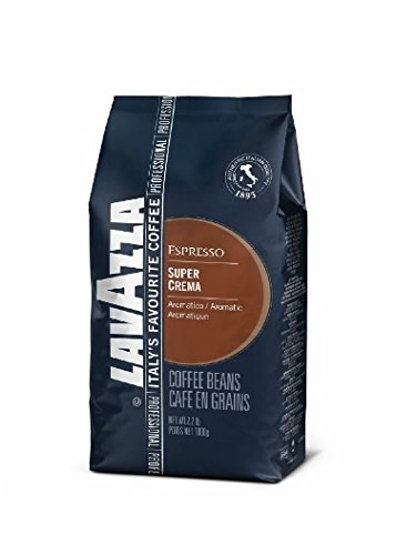 Lavazza Super Crema Whole Bean Coffee Blend, Medium Espresso Roast, 2.2-Pound - Shop Online India In