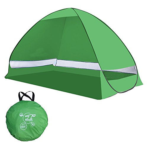 Yazer Portable nti UV Automatic Beach Camping Tent - Green