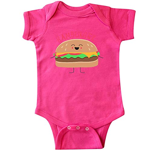 inktastic - Hamburger Costume Infant Creeper 6 Months Hot Pink 31d0b