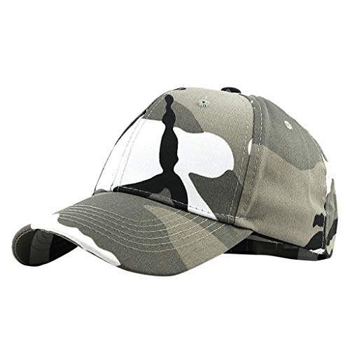 Dressin Dad Hat Unisex Outdoor Camouflage Trucker Plain Baseball Visor Caps UPF50 Quick-Dry Baseball Cap