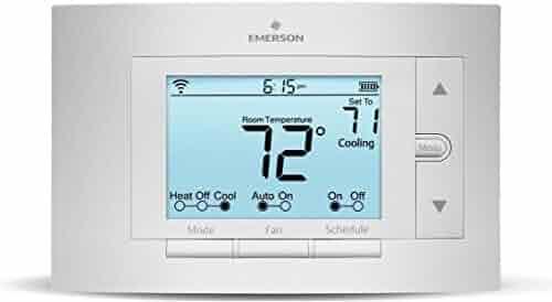 Emerson Thermostats 524547878 Sensi Smart Thermostat, Wi-Fi, UP500W, Works with Amazon Alexa