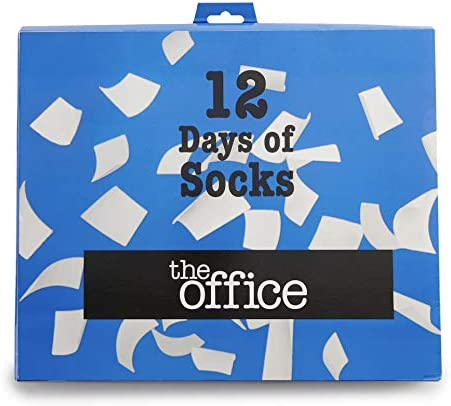 The Office 12 Days Of Socks Advent Calendar Set (Mens 6-12)