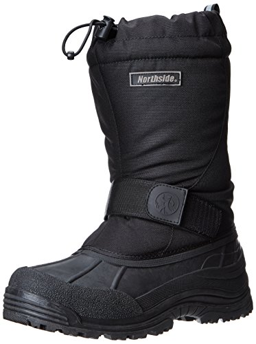 Northside Men's Alberta II Snow Boot, Black, 10 M US