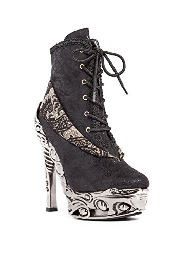 Hades Shoes - Mina Steampunk Heel Shoes 4.5 / Black for sale  Delivered anywhere in USA