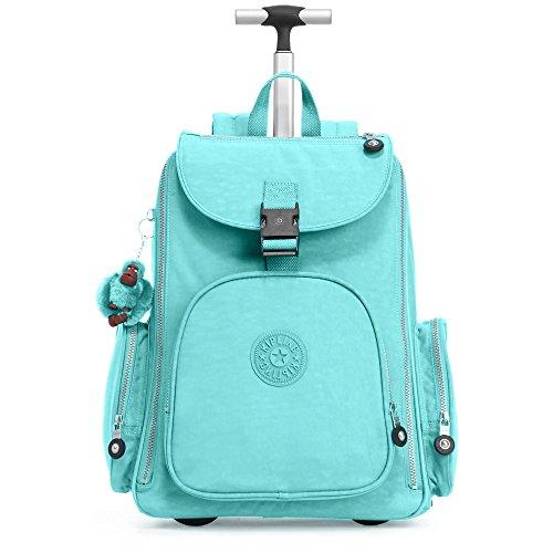 Kipling Women's Alcatraz Ii Large Rolling Laptop Backpack One Size Blue Splash