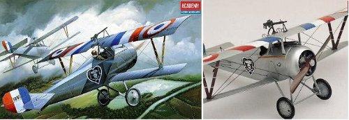 Academy Nieuport 17 World War One Fighter 1:32 Plastic Kit