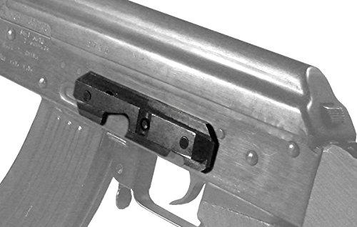 Ultimate Arms Gear Side/Plate For AK47 AK-47 AK74 AK-74 MAK 90 MAK-90 MAADI Saiga Rifle Combat Scope Mounting Mount Rail, Steel (Ak 47 Gear)