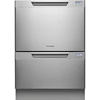 Fisher Paykel  DD24DCHTX7  Double Dishwasher, Stainless Steel Semi-Integrated,  34 X 23-Inches