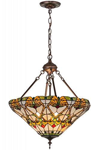 Meyda Tiffany 162116 Middleton Inverted Pendant Light Fixture, 20