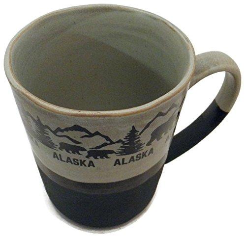 Alaska Mug - Rustic Alaskan Black Bears Coffee Mug 9 oz.