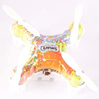 2.4GHz 4 Channels 6 Axis Gyro RC Quadcopter Helicopter Mini Remote-controlled Rechargeable Arm Drone Colorful