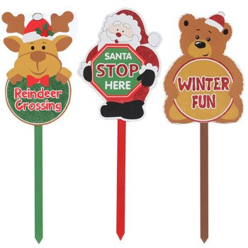 Christmas Wooden Yard Sign: Home U0026 Kitchen