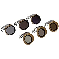 Polar Pro Filters DJI Spark Filter-Cinema Series, 6-Pack, Bronze (SPRK-CS-6PKK)