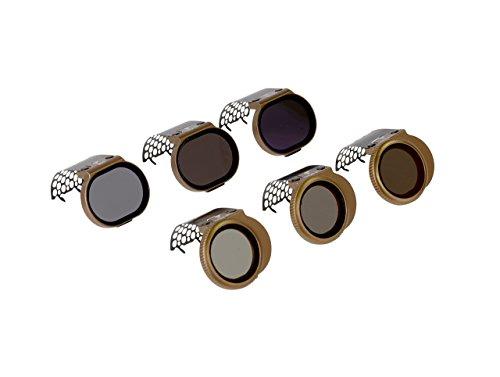 Polar Pro Filters DJI Spark Filter-Cinema Series, 6-Pack, Bronze (SPRK-CS-6PKK) by PolarPro