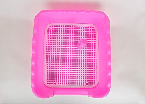 Large Pet Online dog supplies dog toilet fence toilet dog to the standard small, pink, Large