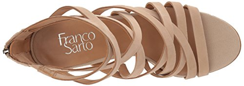 Sandal Sarto Heeled Madrid Bone Women's Franco nUAq4w