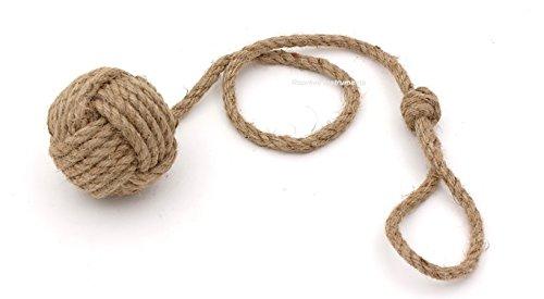 Roorkee Instruments India Pair of Nautical Curtain Tie Back/Jute Tiebacks/Curtain Holdbacks/Nautical Home Decoration