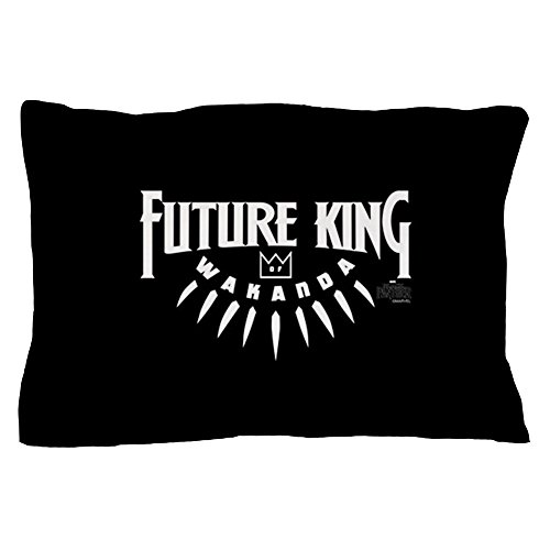 CafePress Black Panther Future King Standard Size Pillow Case, 20