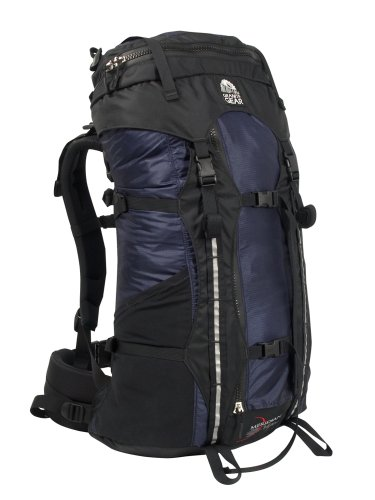 Granite Gear Meridian Vapor Backpack (Black/Indigo), Outdoor Stuffs