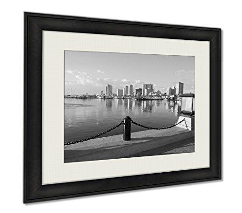 Ashley Framed Prints Manila City Philippines, Wall Art Home Decoration, Black/White, 26x30 (frame size), AG5974897 by Ashley Framed Prints