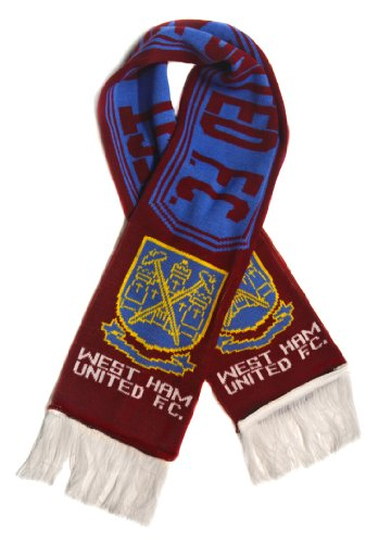 West Ham United FC | Premium Fan Scarf | Ships from USA