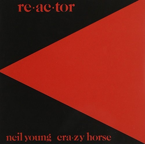Neil Young Reactor CD Covers