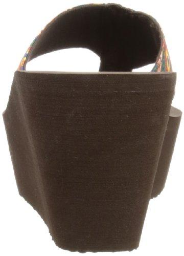 Rocket Dog Diver - Sandalias de tela mujer marrón - Marron (Drum Circle Rust)