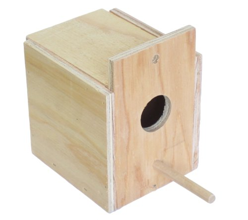 YML Assembled Wooden Nest Box for Outside Mount, Small