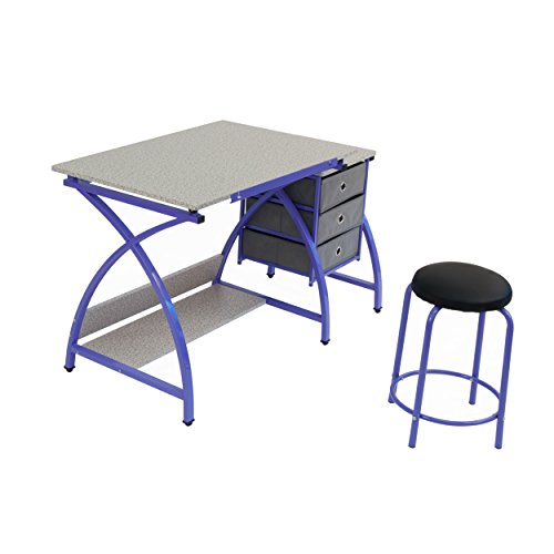 Comet Center with Stool in Purple / Spatter Gray by SD STUDIO DESIGNS (Image #4)