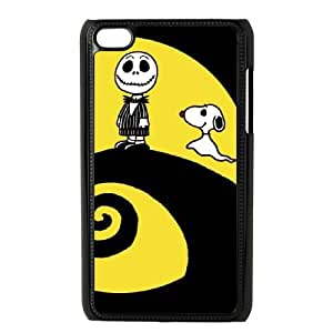 Charlie Brown And Snoopy iPod Touch 4 Case Black yyfabc_055639