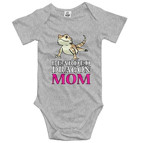 Bearded Dragon Outfits (Baby Boys Girls Unisex Romper Bodysuit Bearded Dragon MOM Infant Lpvely Jumpsuit Outfit 0-2T Kids)