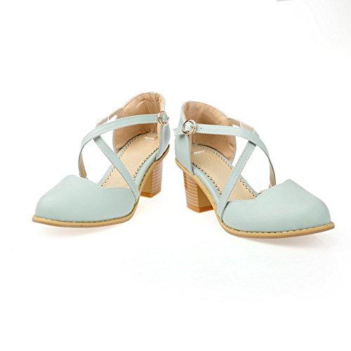 Bleu Bleu Sandales Femme Compensées SLC04297 5 36 AdeeSu Bq6wI4WUxn