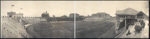 Antique Panoramic Photos Football on - Panoramic University Photo