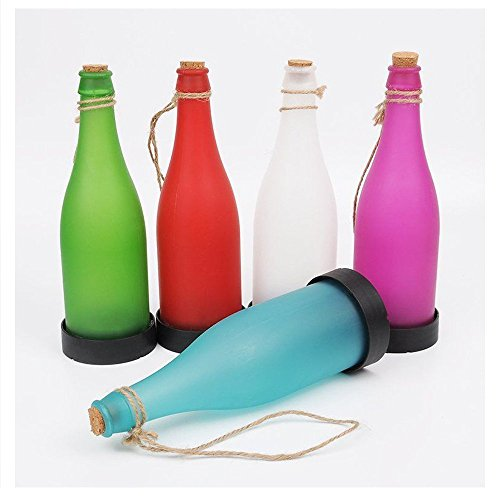 Colorful Plastic LED Solar Powered Bottle Lights, Hanging...