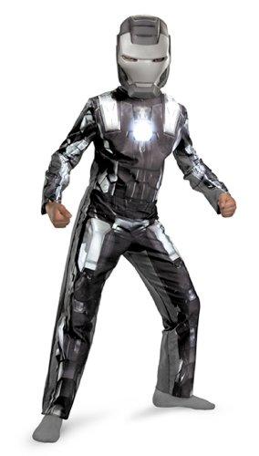 Iron Man War Machine Costume Mens (Iron Man 2 War Machine Classic Costume, Child S(4-6))