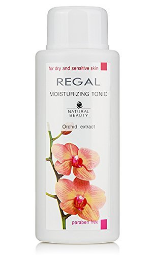 MOISTURIZING TONIC - Orchid extract; For dry and sensitive skin; PARABEN FREE by Regal Natural Beauty