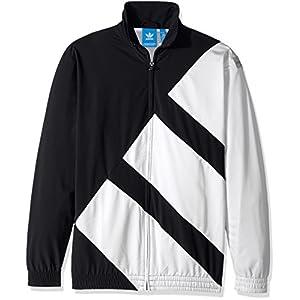 adidas Originals Men's Tops EQT Track, Black, X-Large