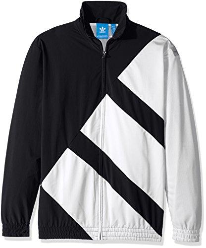 adidas Originals Men's Eqt Track Top, Black, Large