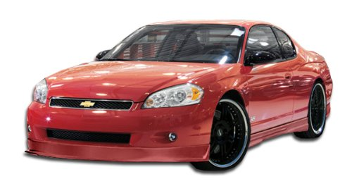 Duraflex ED-KIX-125 Racer Front Lip Under Spoiler Air Dam - 1 Piece Body Kit - Fits Chevrolet Monte Carlo - 2006 2007 | 06 07 - Lip Kix