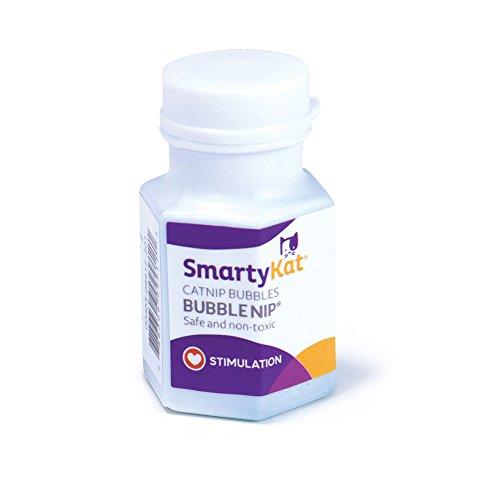 SmartyKat Bubble Nip Catnip Bubbles (Bubble Catnip)