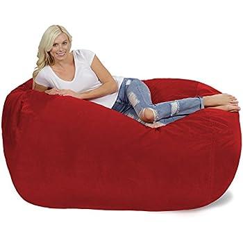 Amazon Com Lumaland Luxury 6 Foot Bean Bag Chair With