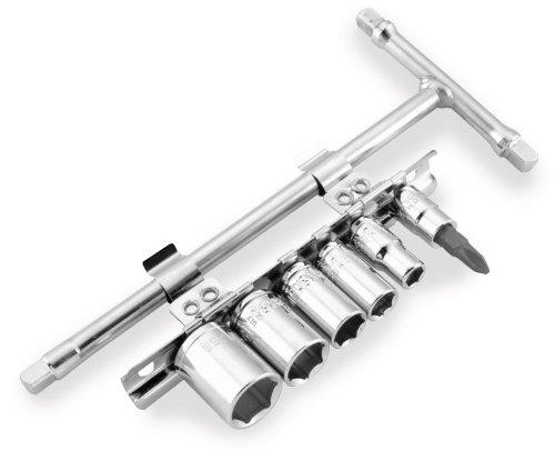 (BikeMaster Drive Set T-Handle Tool Accessories - Sz. 1/4)