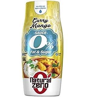 NATURAL ZERO Salsa Curry-Mango - 300 gr