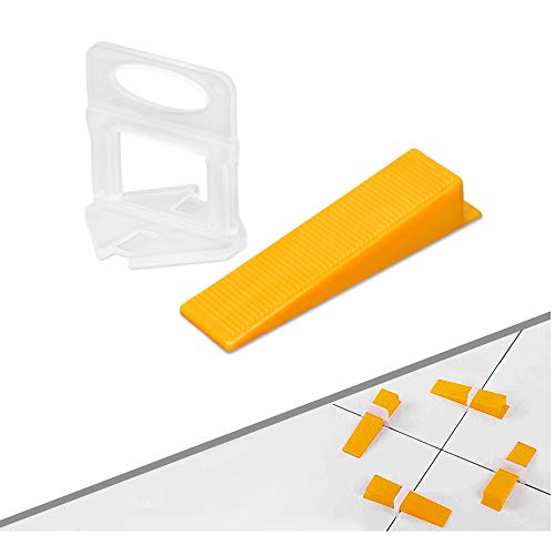 Tile Leveling System 1/16 Inch (2mm) Tile Leveler Spacers