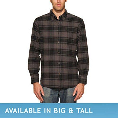 Weatherproof® Vintage Men's Lightweight Flannel Shirt. Long Sleeve, 6oz Flannel, Button-down (6 Ounce Flannel)