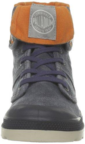 Palladium Baggy Kid, Unisex - Kinder Stiefel Blau (438 Navy/Orange)