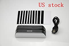 MSRX6 Smallest USB Magnetic Credit Card Reader Writer 1/3 Size of MSR206 MSR606 MSR605 World's First USB Powered Manual Swipe Smallest Magnetic Card Reader/Writer MSR X6 is designed in USA to offer a card reading/writing solution for ISO 7811...